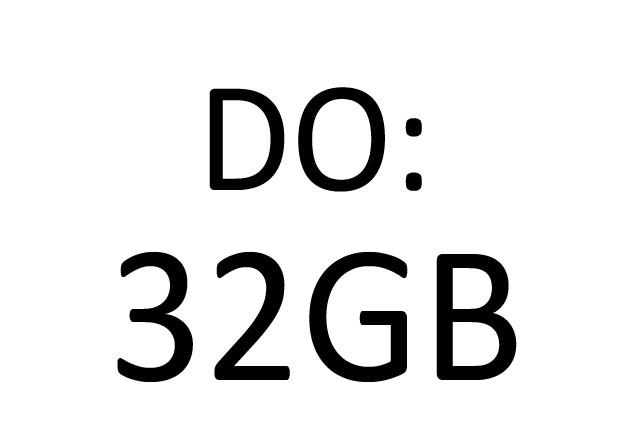 z 16GB do 32GB